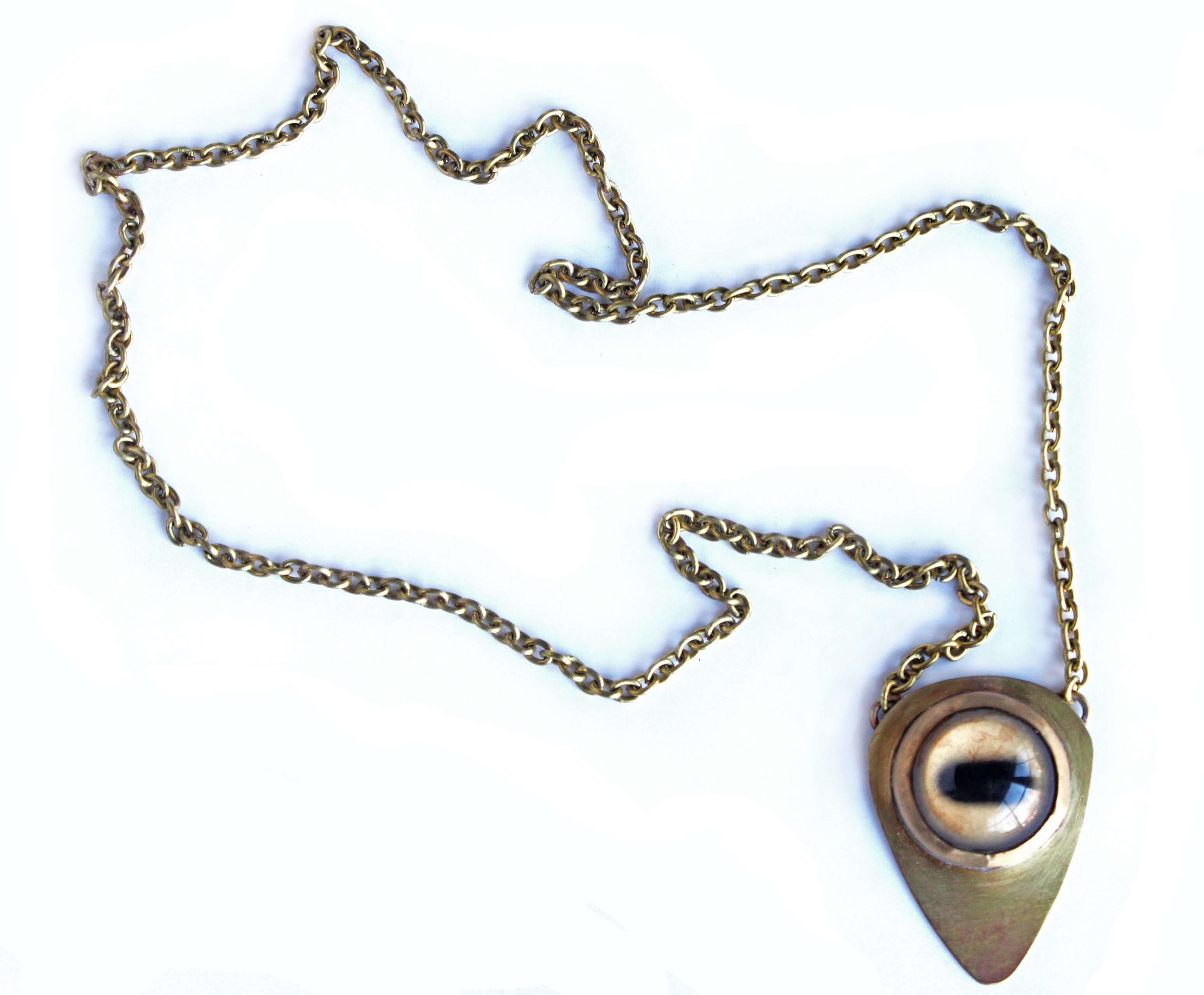 necklace silver black pfs evil az cz jewelry simulated sterling sapphire eye pendant bling